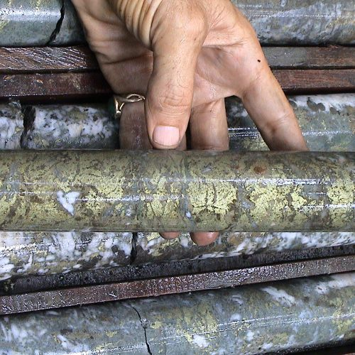 Baroi Drill Core close up
